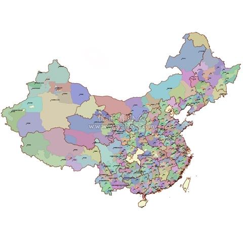 中国地图 2012年版